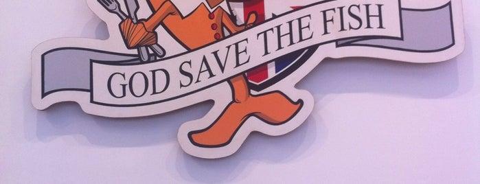 God Save The Fish is one of Paris 9ème.