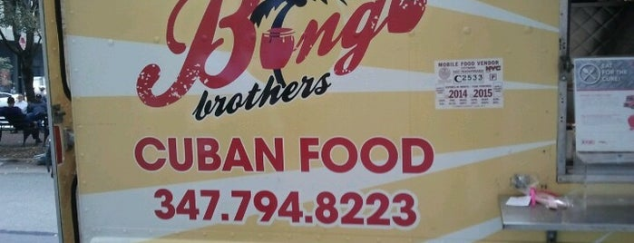Bongo Brothers is one of New York's Best Food Trucks.