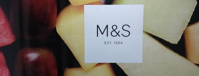 M&S Simply Food is one of Orte, die Johannes gefallen.