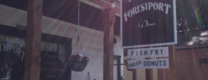 Forestport Diner is one of Greasy Spoon Badge.