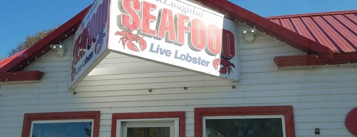 McLaughlin Seafood is one of Lieux qui ont plu à Kirk.