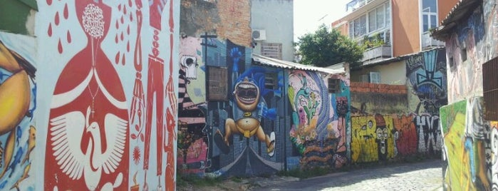Beco do Batman is one of SP.