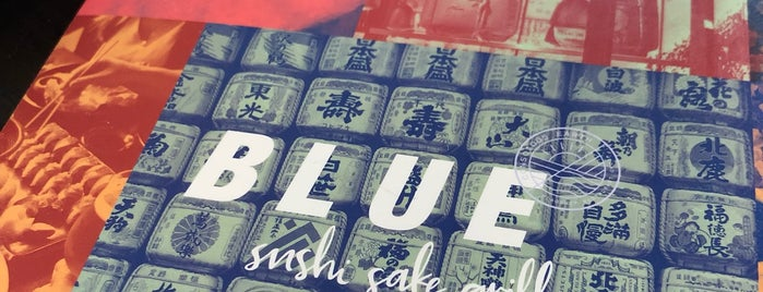 Blue Sushi Sake Grill is one of Tempat yang Disukai Tammy.