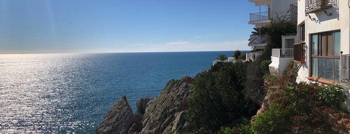 Playa Carabeo is one of Nerja.