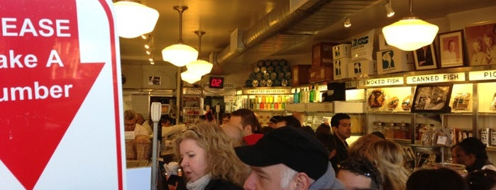 Russ & Daughters is one of cheap eats - NY airbnb.