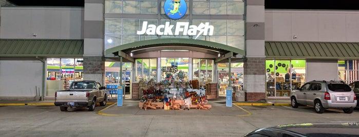Jack Flash is one of Tempat yang Disukai Mark.