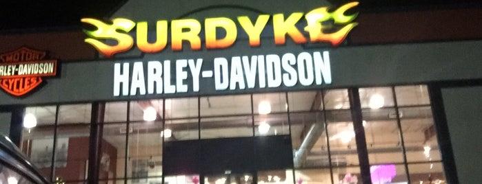Surdyke Harley-Davidson is one of Posti che sono piaciuti a Scott.