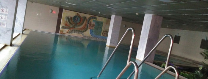 Balçova Termal Hotel Spa is one of สถานที่ที่ Yok ถูกใจ.