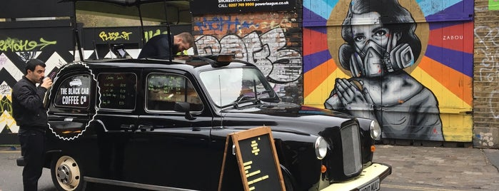 The Black Cab Coffee Co is one of London.