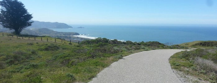 Milagra Ridge County Park is one of HWY1: SF to Davenport.