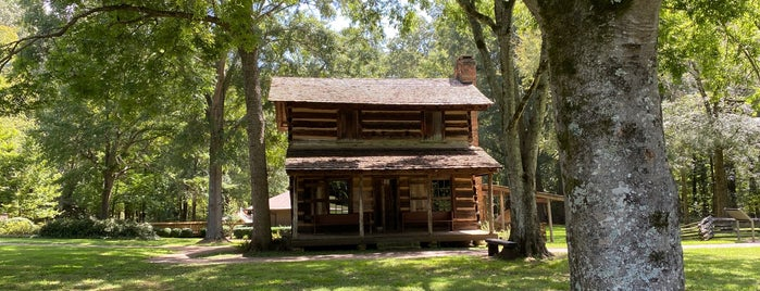 Ninety-Six National Historic Site is one of Native American Cultures, Lands, & History.