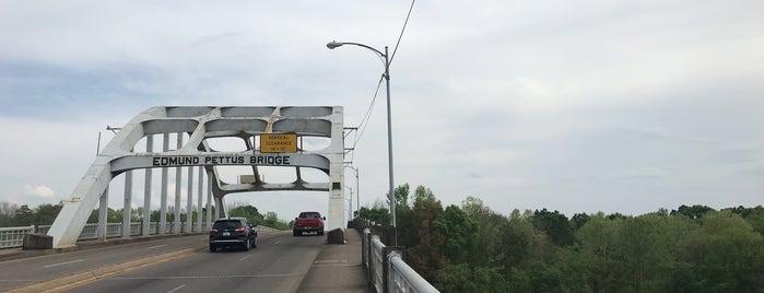 Edmund Pettus Bridge is one of Deep South Road Trip.