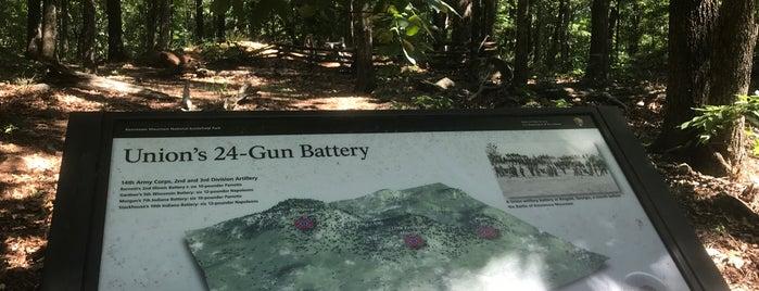 24 Gun Battery is one of 7 of Atlanta's best running trails.