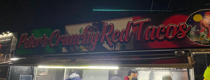 Peter's Crunchy Red Tacos is one of Shane : понравившиеся места.