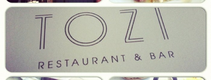 Tozi Restaurant and Bar is one of New London Openings 2013.