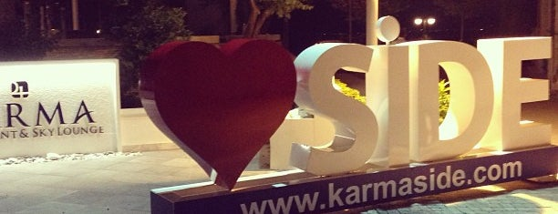 Karma Restaurant & Night Club is one of SİDE.