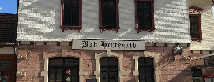 S Bad Herrenalb Bahnhof is one of Bahnhöfe besucht !.