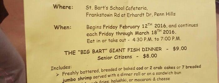 St. Bartholomew Parish is one of Fish Fry.
