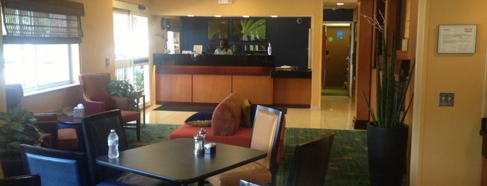 Fairfield Inn & Suites Dallas Mesquite is one of Tempat yang Disukai Tammy.