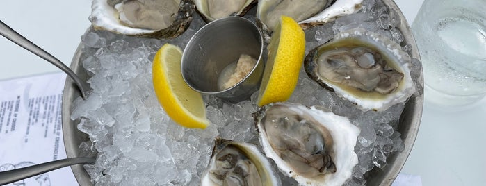 Morty's Oyster Stand is one of NYC.