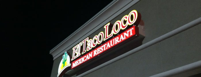 El Taco Loco is one of Lieux qui ont plu à Kaili.