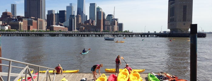 Kayaking on the Hudson is one of New York.