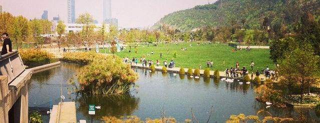 Parque Bicentenario is one of #SantiagoTrip.