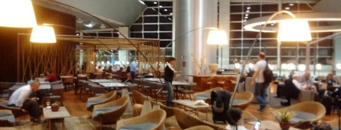 Star Alliance Lounge is one of Viagens.