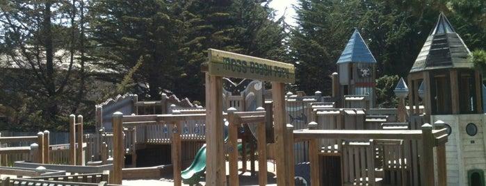 Moss Beach Park is one of Tempat yang Disimpan Stephanie.