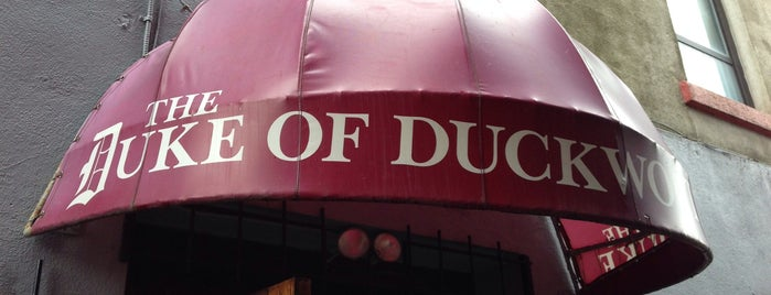 The Duke of Duckworth is one of Newfoundland!.