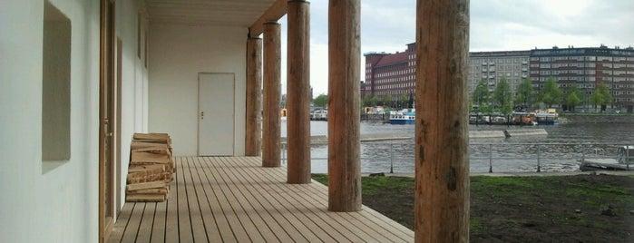 Kulttuurisauna is one of Helsinki.