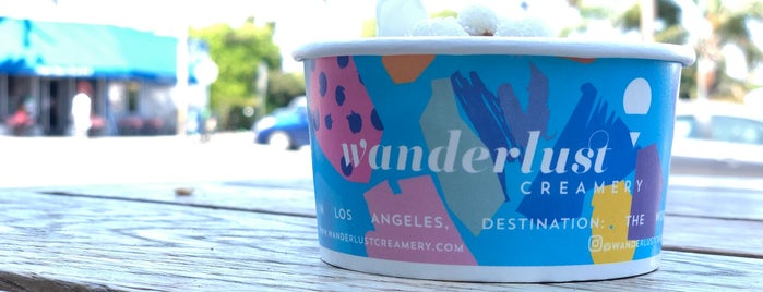 Wanderlust Creamery is one of LA Favourites.
