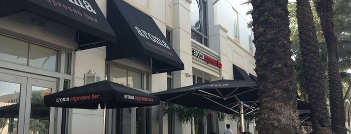 Aroma Espresso Bar is one of Miami places to try-food, shopping & more!.