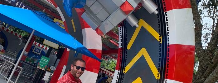 Great Lego Race Vr Coaster is one of Justin'in Beğendiği Mekanlar.