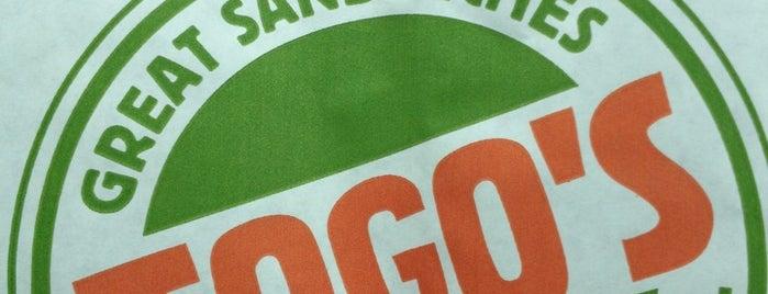 TOGO'S Sandwiches is one of Lugares favoritos de Geoff.