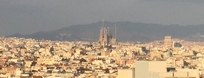 Mirador del Palau Nacional is one of #myhints4Barcelona.