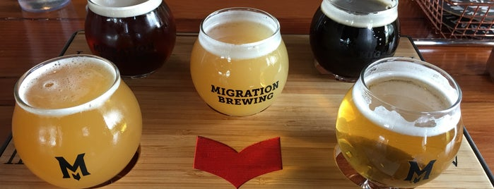 Migration Brewing Pub & Production Facility is one of Lieux qui ont plu à Noland.