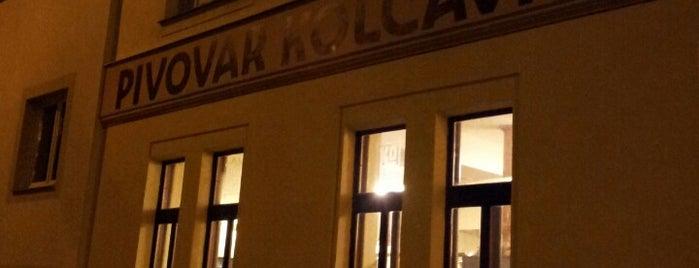 Pivovar Kolčavka is one of Auf ein Bier nach Prag.