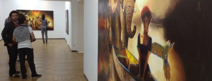 Merkur Art Gallery is one of Sanat Galerisi.