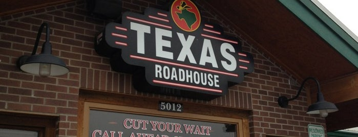 Texas Roadhouse is one of Orte, die Tammy gefallen.