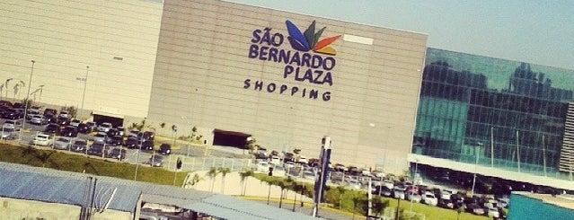 São Bernardo Plaza Shopping is one of Tchurururu.