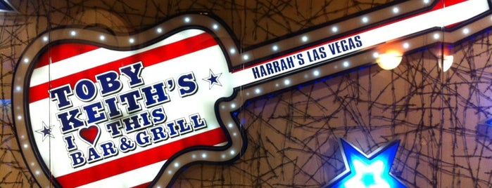 Toby Keith's I Love This Bar & Grill is one of 10 Dining Challenges in Las Vegas!.