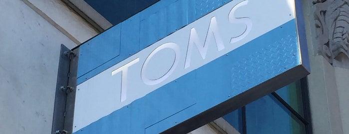 TOMS Store - Portland is one of Seattle + Portland Fall 2015.