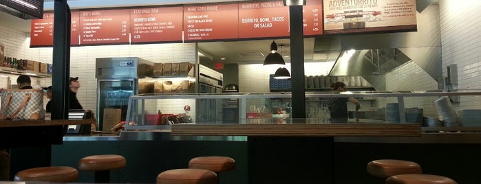 Chipotle Mexican Grill is one of Remember College?.