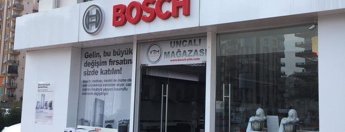 YTM Bosch Uncalı Mağazası is one of Locais curtidos por HAKAN.