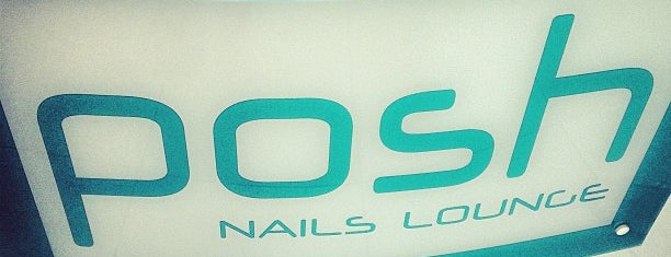 Posh Nail Lounge is one of Lugares favoritos de Lovely.
