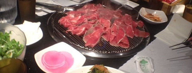 Manna Korean BBQ is one of Lugares favoritos de Alberto J S.