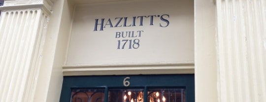 Hazlitt's Hotel is one of UK.