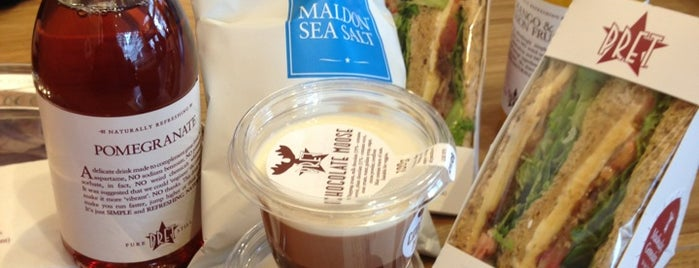 Pret A Manger is one of Lugares favoritos de Jon.