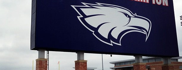 Allen Eagle Stadium is one of 10 High School Football Stadiums to See.
